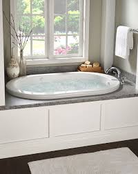 Enjoy a soothing soak in this Ridgefield Whirlpool. This soaker ...
