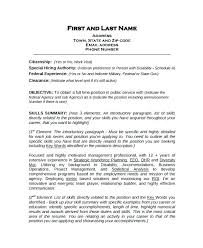 Work Experience Resume Format No Work Experience Resume Template ...