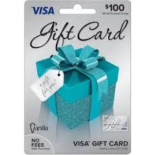 visa 100 gift card