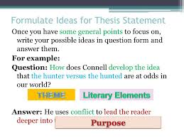living a healthy lifestyle essay high school essay essay  the literary analysis essay using the most dangerous game by formulate ideas for thesis statement once