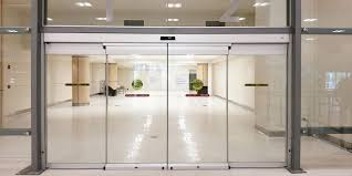 glass sliding entrance doors automatic