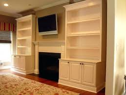 custom built shelves around fireplace built in cabinets around fireplace custom built shelves around fireplace