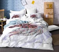 cute unicorn bedding set cartoon duvet cover twin full queen king size bedclothes king duvet set white comforter sets queen from industrial 91 91 dhgate