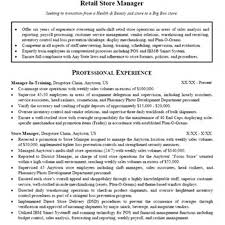 Retail Sales Manager Resume Essayscope Com