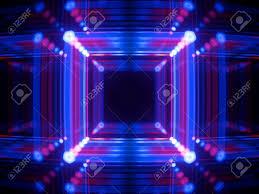 Neon Light Spectrum 3d Render Glowing Lines Neon Lights Abstract Psychedelic Background