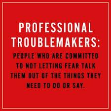 Professional <b>Troublemaker</b>: The Fear-Fighter Manual: Ajayi Jones ...