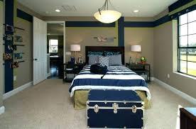 Bedroom Trunk Seat Trunk Bedroom Elegant Pendant Lamp With Antique Blue  Wooden Trunk For Cool Bedroom