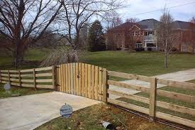 farm fence gate. Farm Fence Ideas Wire Gate 4 Board Plank With Arched  Picket Double .