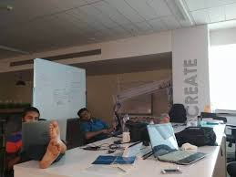 cool office buildings. Modren Office This Space Looks Quite Familiar  Ah Of Course This Is Our Office  Headquarters Second Home The Working Table Vidyaroha  Throughout Cool Office Buildings