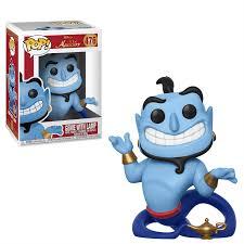 Disney Aladdin Genie With Lamp Pop Vinyl Figure Pop In A Box Uk