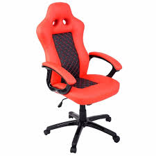 bucket office chair. goplus high back race car style bucket seat office desk chair new modern red pu leather