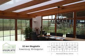 Wintergarten Preiswert Selber Bauen Mit Hagelfesten Stegplatten