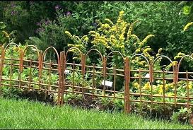 low garden fencing attractive flower bed fence ideas decorative home depot able kitchen cabinets nice front small garden fence