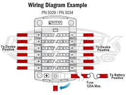 blue sea systems 12 circuit ato blade fuse block with cover 100a max fuse block wiring diagram on a 05 acura mdx blue sea systems 5029 fuse box wiring diagram