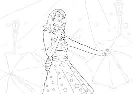 Small Picture Taylor swift coloring pages free to print ColoringStar