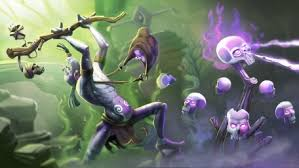 witch doctor portrait dota 2 wallpapers