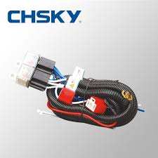 whole patent product hot waterproof 12v 2 light h4 patent product hot waterproof 12v 2 light h4 headlight wiring harness relay kits ch