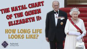 Natal Chart Of Queen Elizabeth Ii Long Life In Natal Chart