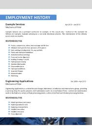 Oil And Gas Resume Examples 814 Sevte
