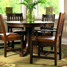round mission style dining table mission dining room set round mission dining table furniture available at