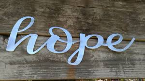 Word Signs Wall Decor Hope Sign Farmhouse Decor Hope Wall Art Rustic Signs Hope 13