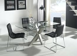 modern glass dining table contemporary and white or steel caesar set with 6 seater
