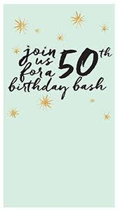 50th Birthday Invitations Templates Free Birthday Milestone Invitations Evite