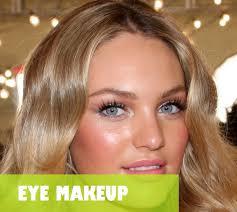 makeup to look like victoria secret model eye