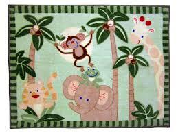 amazoncom  nojo jungle babies rectangular rug (discontinued by