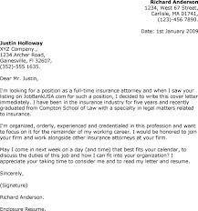 attorney cover letters cover