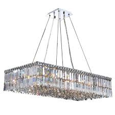 rectangle chandelier with fabric shade tags awesome rectangular