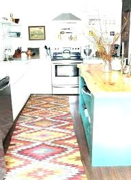 blue kitchen rugs navy bed bath and beyond washable rug aqua set extra larg