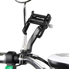 <b>GUB P20 Metal</b> Motorcycle Rearview Mirror Phone Holder Electric ...