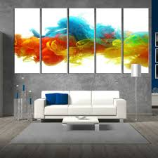 >wall art samples collection large wall art big paintings for big  large wall art 5 panel red blue yellow large wall art on white canvas hang on