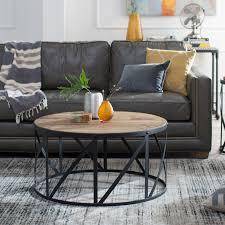 Belham Living Franklin Reclaimed Wood Industrial Coffee Table | Hayneedle