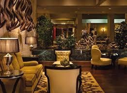 Luxury Lobby Hospitality Interior Design of Omni Houston Hotel, Texas