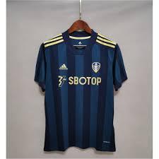 AAA] ⬛️🟦 Leeds United Away 2020/2021 🟦⬛️ เสื้อบอลลีดส์ ยูไนเต็ด เยือน  2020-21