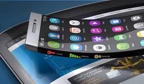 Resultado de imagen para pantalla flexible celulares