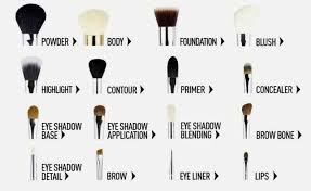 kinds of makeup brushes and uses vidalondon diffe