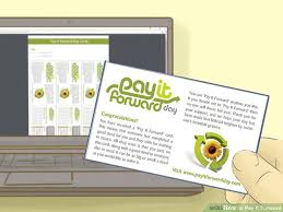 ways to pay it forward wikihow image titled pay it forward step 1