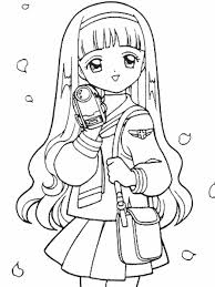Small Picture Cardcaptors 41 Cartoons Coloring Pages Coloring Book