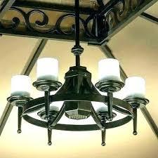 outdoor gazebo chandelier lighting solar light chandeliers home depot