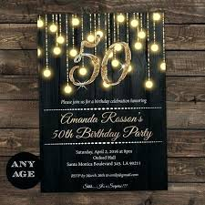 50th birthday invitation templates free 50th birthday invitations invitation template with photo cafe322 com