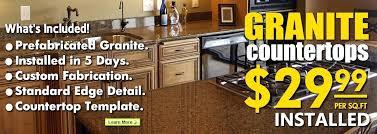 granite countertops squ sq per square foot canada countertop cost range
