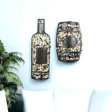 wine cork holder wall decor letter art