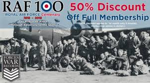 Forces War Records is offering you HALF PRICE membership ...