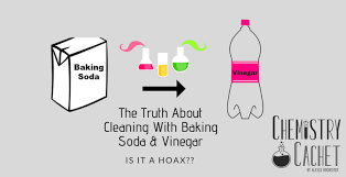 cleaning with baking soda vinegar