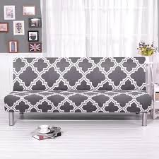 universal size spandex armless sofa bed
