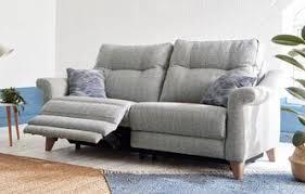 fabric reclining sofas. Contemporary Sofas G Plan Ergo1 Flair Fabric A 3 Seater Electric Recliner Ergo  With Reclining Sofas Y