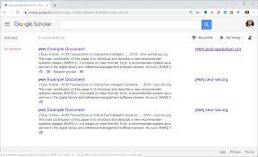 The Sometimes Weird Indexing Practice Of Google Scholar